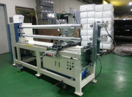 2.ROLLS TAPE CUTTING MACHINE